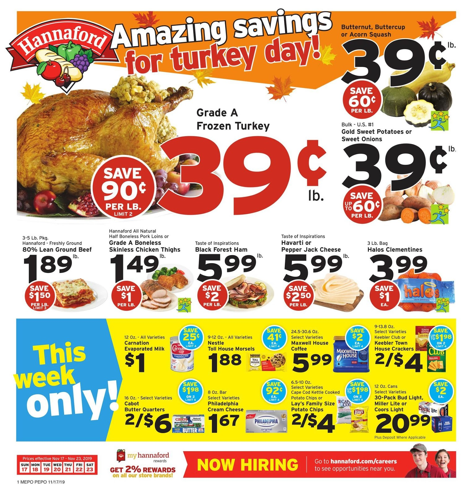 Hannaford Flyer