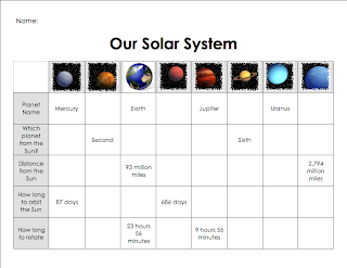 scale solar system datatable - photo #12