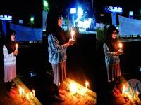 Heroik Banget! Ahoker ini Bakar Lilin Sendirian, Warga: Bikin Rusuh Aja lu Nyet!