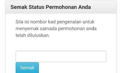 Semakan Status Permohonan Skim Kad Peduli Sihat Selangor Online