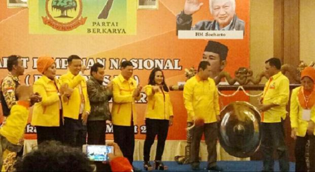 Partai Berkarya Targetkan 4 Persen Kursi di Pileg 2019