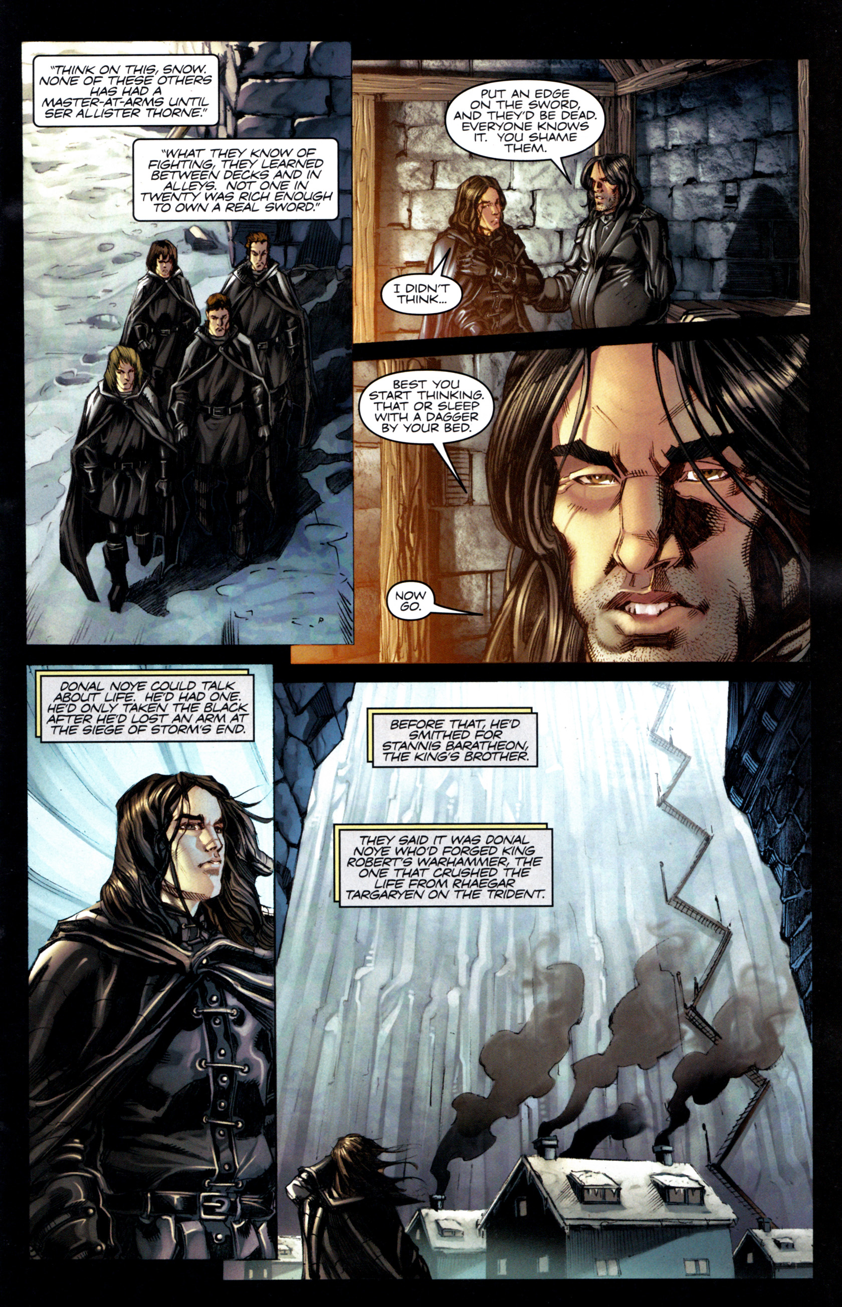 Read online A Game Of Thrones comic -  Issue #6 - 7