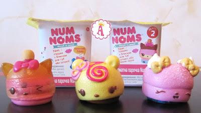 Йогурт сюрприз Num Noms что лежит внутри?