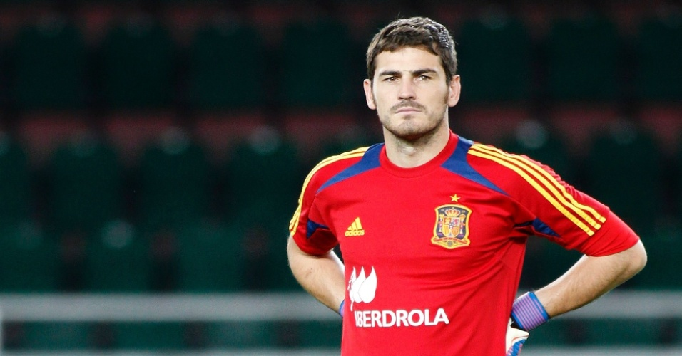 O início da carreira. Iker Casillas ... f72379ddc7bee