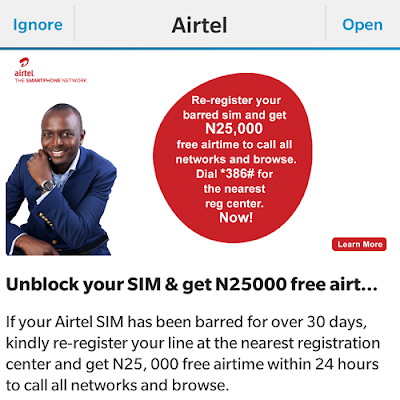 Awoof - Airtel gives away N25,000 to call all networks when...