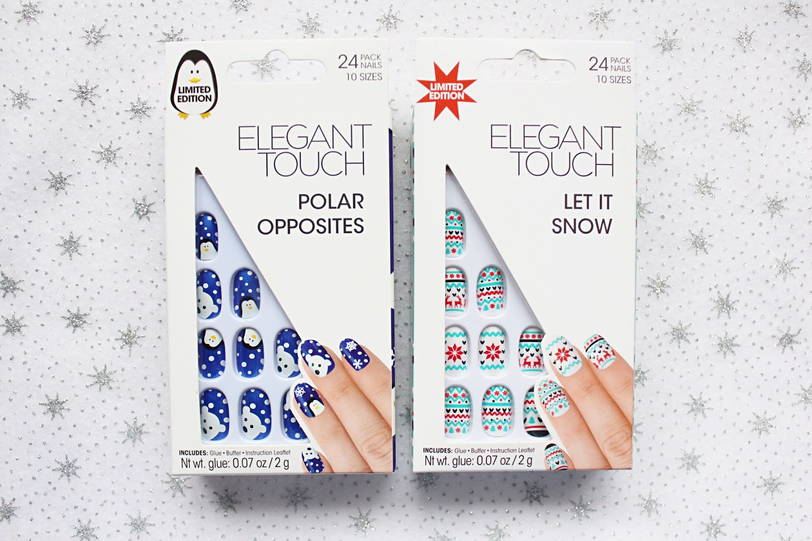 Elegant Touch Christmas 2016 Nails