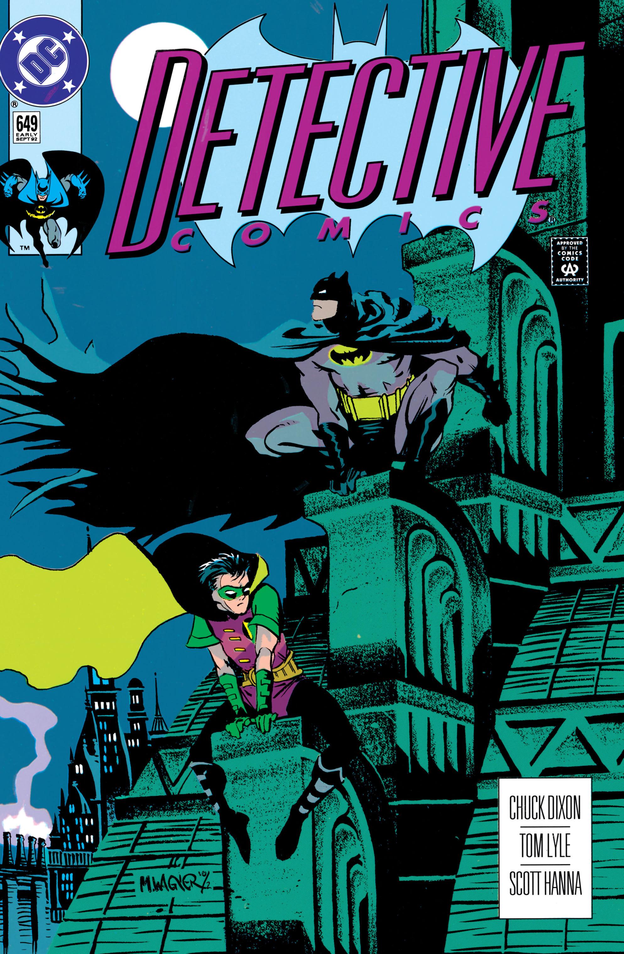 Detective Comics (1937) 649 Page 0