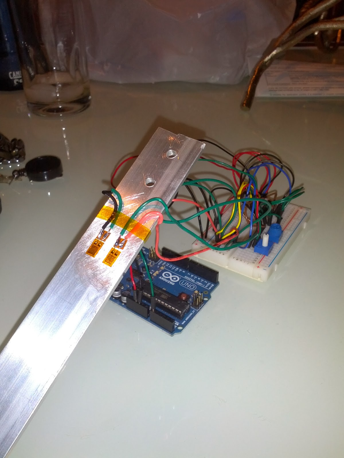 Tipsy Tinker Wheatstone Bridge With The Arduino Wiring Diagram Full