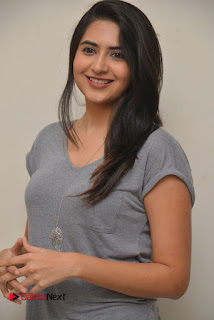 Actress Vyoma Nandi Pictures in Jeans at Marala Telupana Priya Movie Success Meet  0021.JPG
