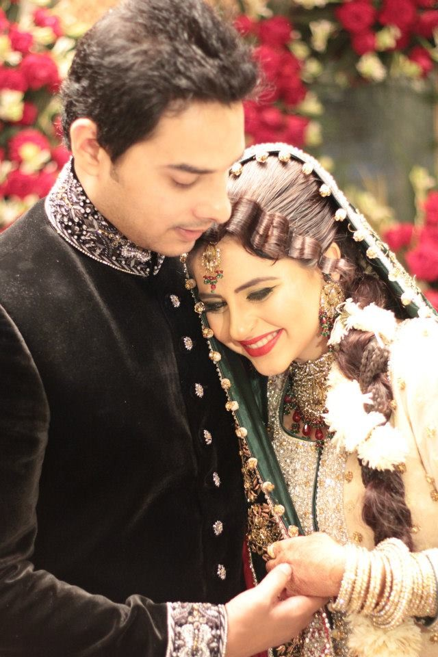 fatima effendi and aanwar arsalan wedding dulha amp dulhan