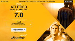 betfair supercuota 7 Atletico gana Athletic Liga 22 enero