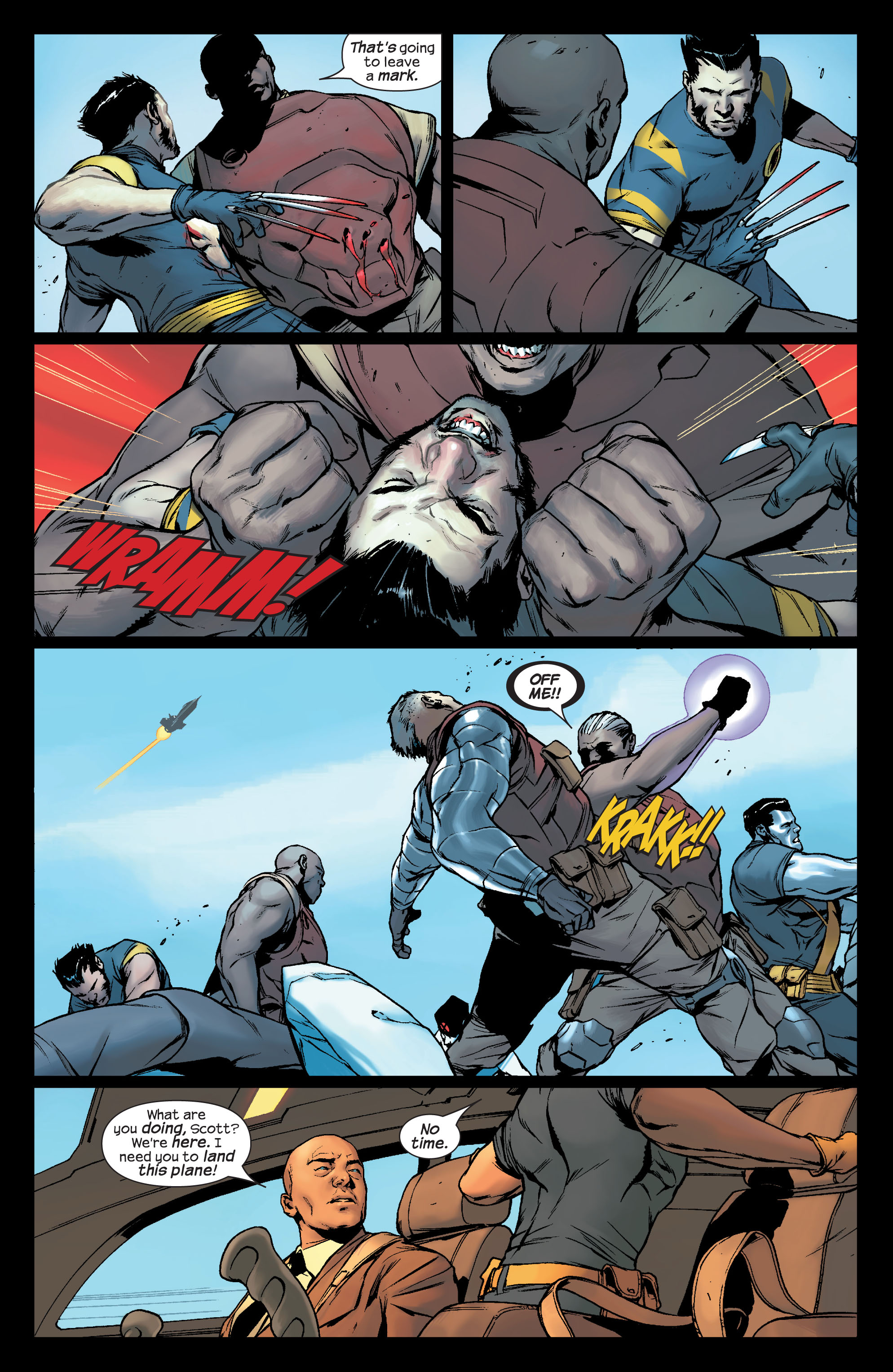 Read online Ultimate X-Men comic -  Issue #78 - 5