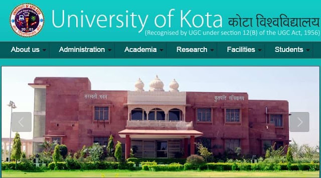 Kota University Time Table