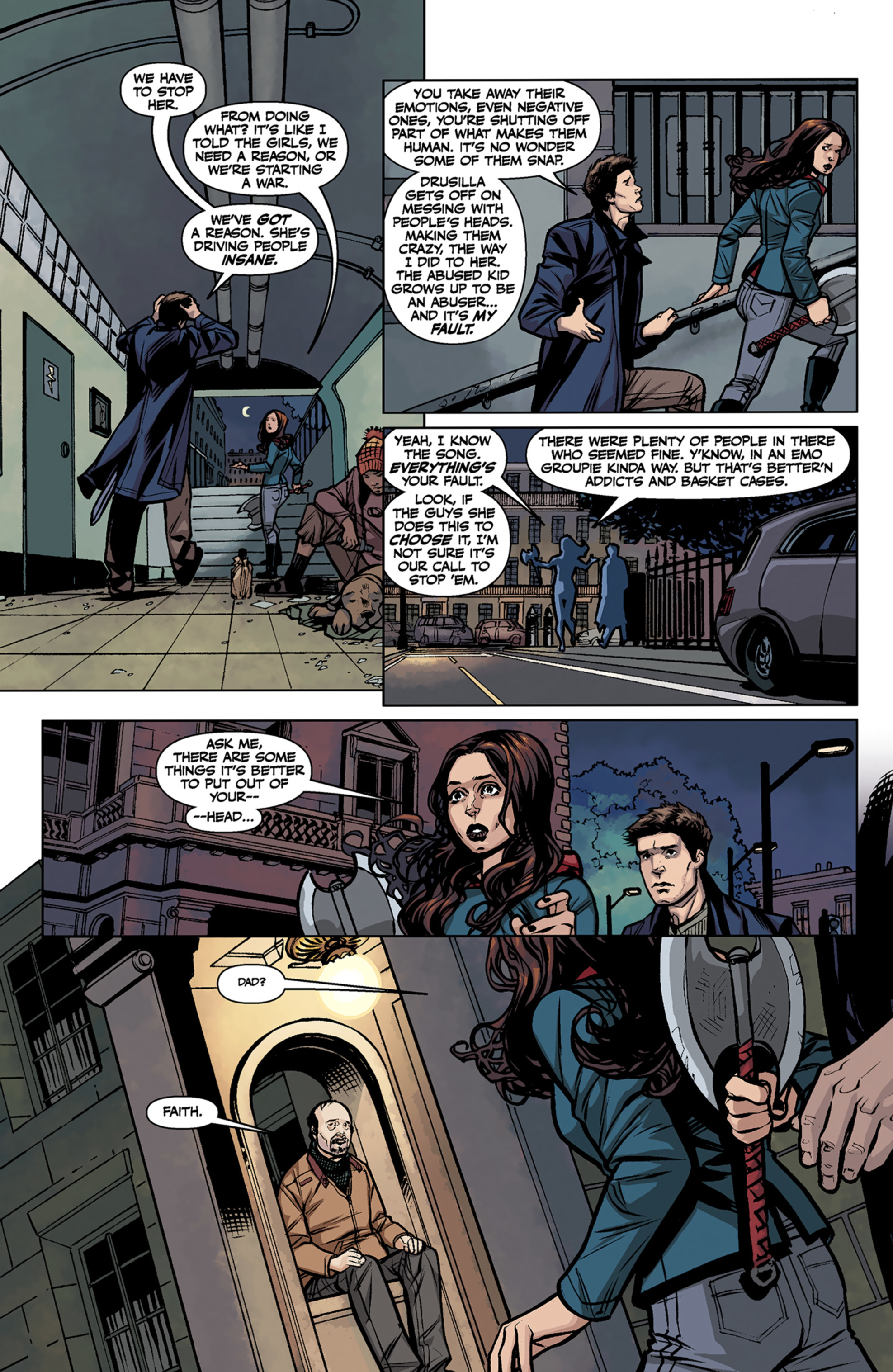 Read online Angel and Faith comic -  Issue #7 - 11