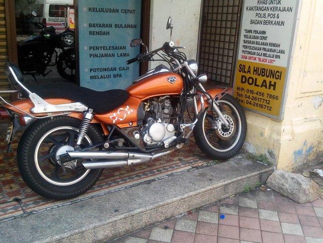 малолитражный мотоцикл