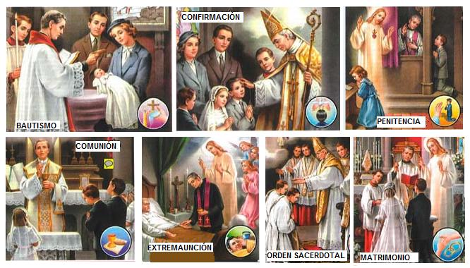 La De 7 Los Dios Ley De Sacramentos