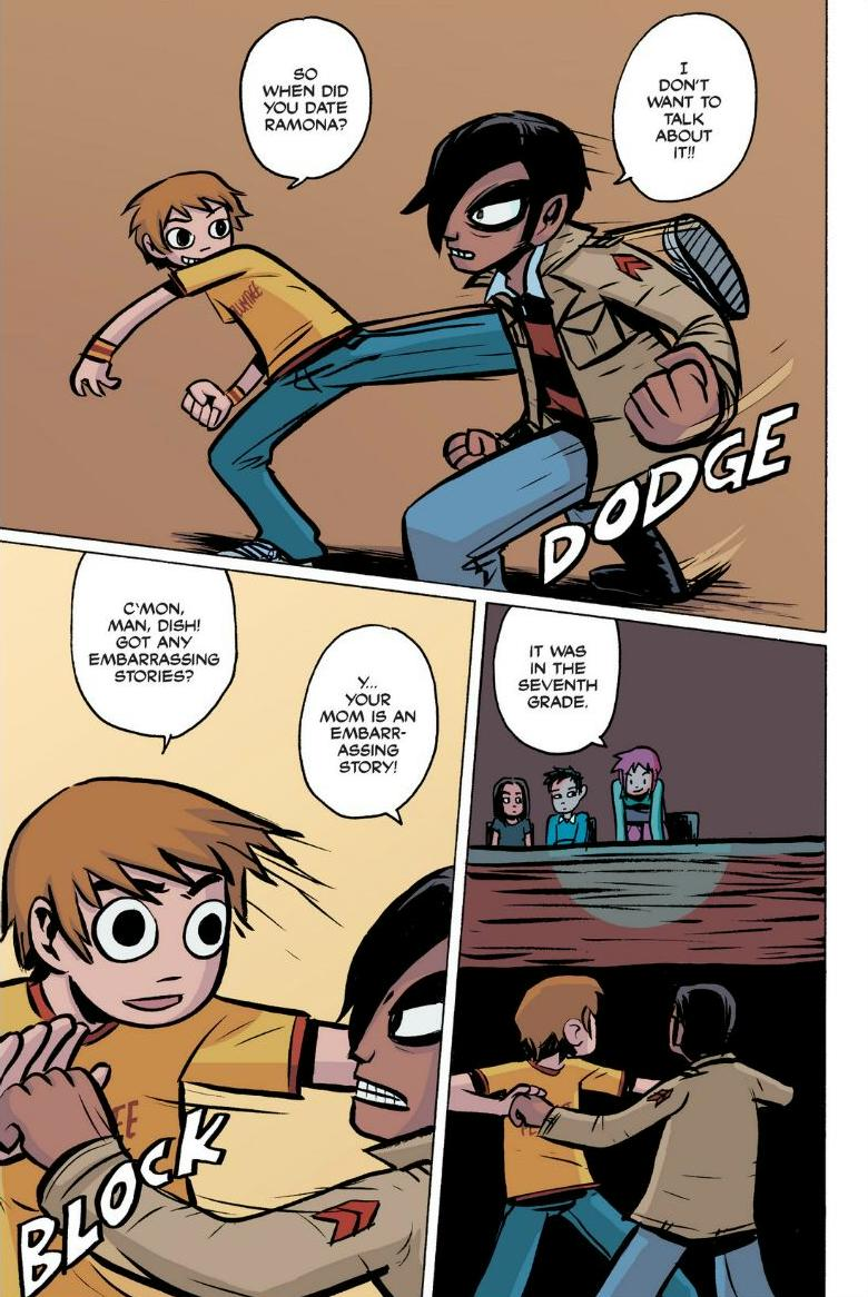 Read online Scott Pilgrim comic -  Issue #1 - 131