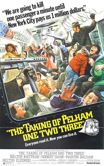 Póster película Asalto al tren Pelham 123