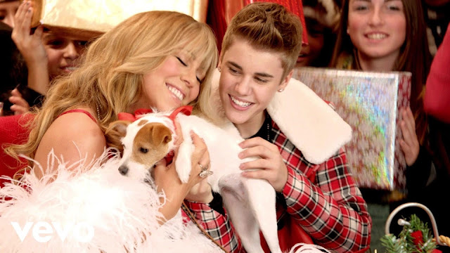 Video: Mariah Carey y Justin Bieber - All I Want For Christmas Is You