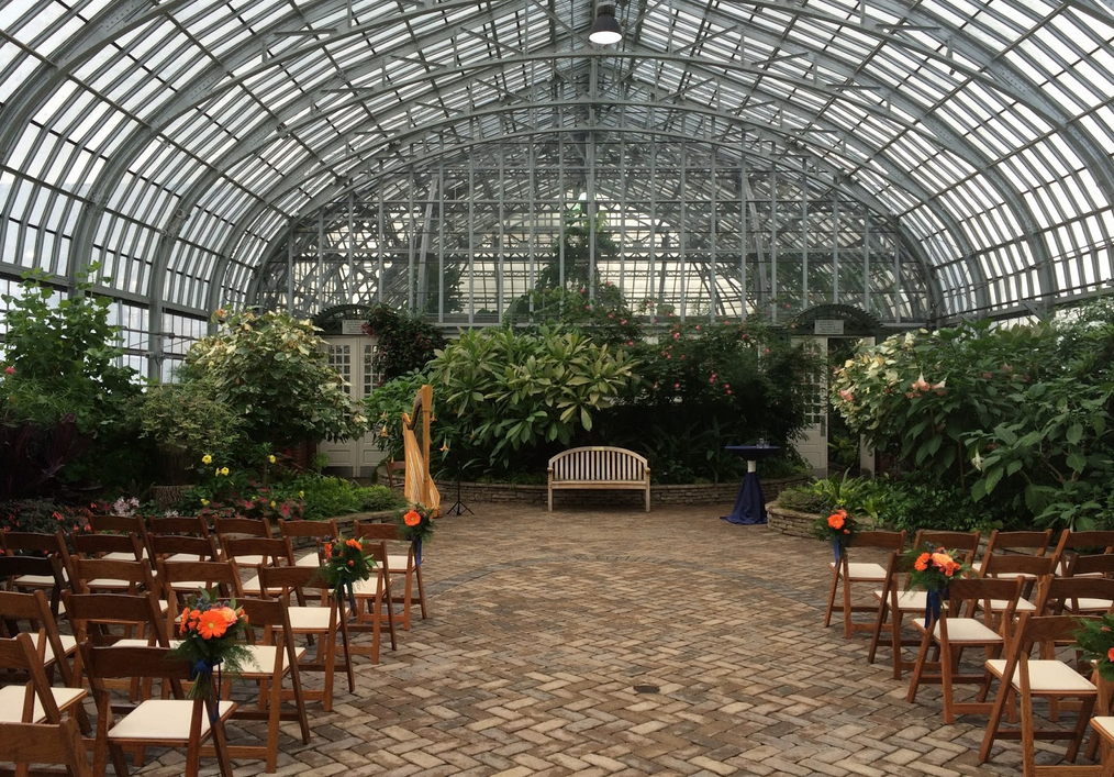 Garfield Park Conservatory Wedding.Garfield Park Conservatory Wedding Venues