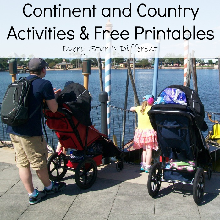 Continent and Country Activities