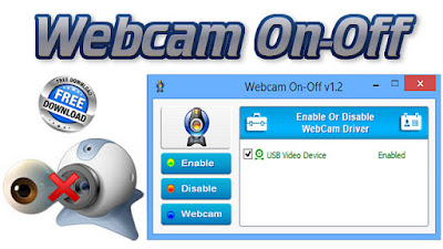Turn Webcam On or Off, Laptop, free