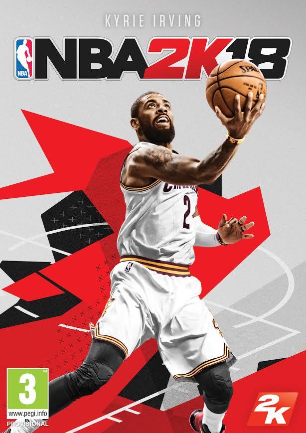 Kyrie Irving será la portada de NBA 2K18