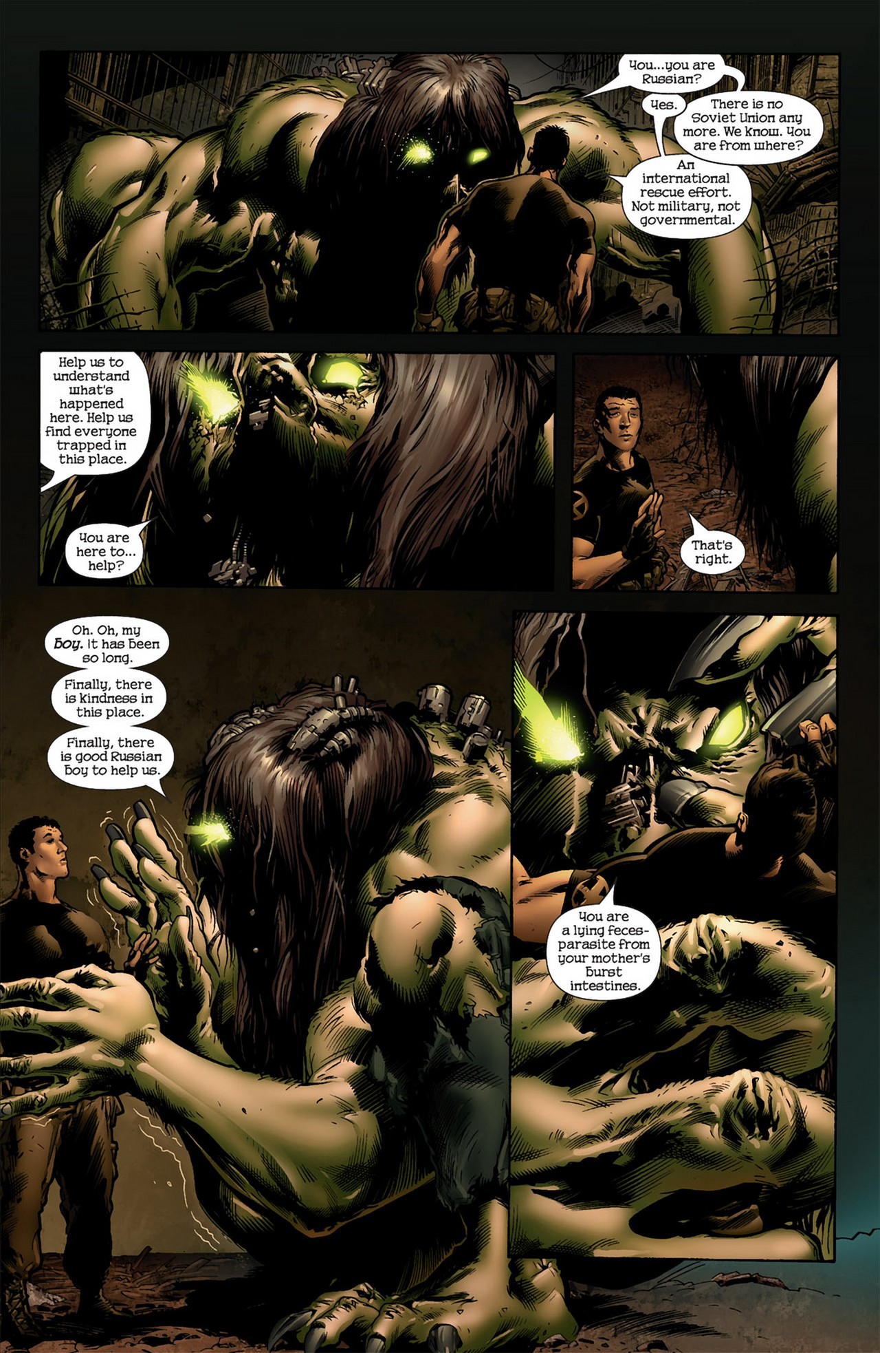Read online Ultimate Nightmare comic -  Issue #4 - 7
