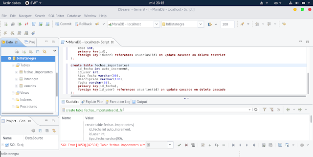 Instalar MariaDB en Apricity OS