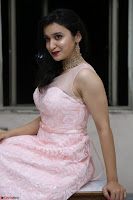 Sakshi Kakkar in beautiful light pink gown at Idem Deyyam music launch ~ Celebrities Exclusive Galleries 057.JPG