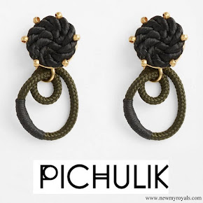 Meghan Markle wore PICHULIK Labyrinth earrings