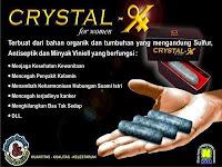 Jual Crystal X Asli Original NASA di Tangerang Selatan