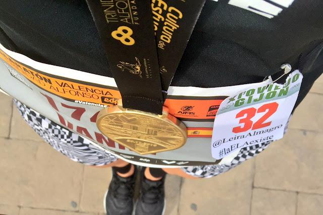 Maratón de Valencia, finisher, dorsal, medalla, Bikila, Mi Diario Runner