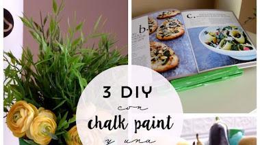 3 diy con chalk paint y una patata
