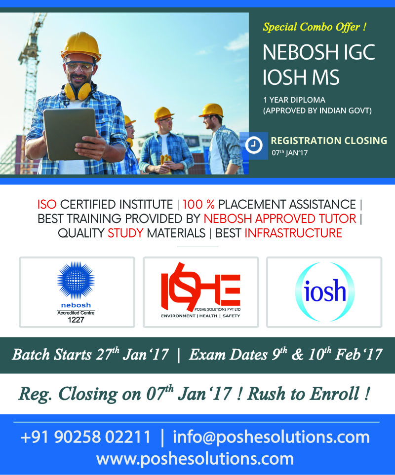 NEBOSH International General CertificateNebosh IGC Covers The Main Stable Requirement Standards For Stability And Shield At Workplace Concern Gat