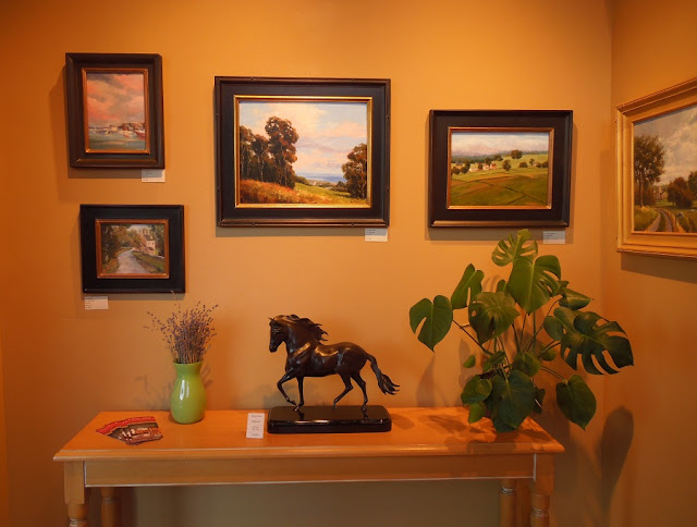 Heritage Gallery West - Sheryl Knight on Display