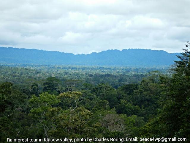 Klasow valley of Sorong regency