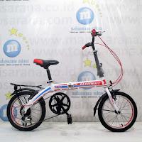16 element dash folding bike