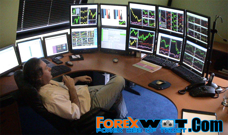 Who are forex traders