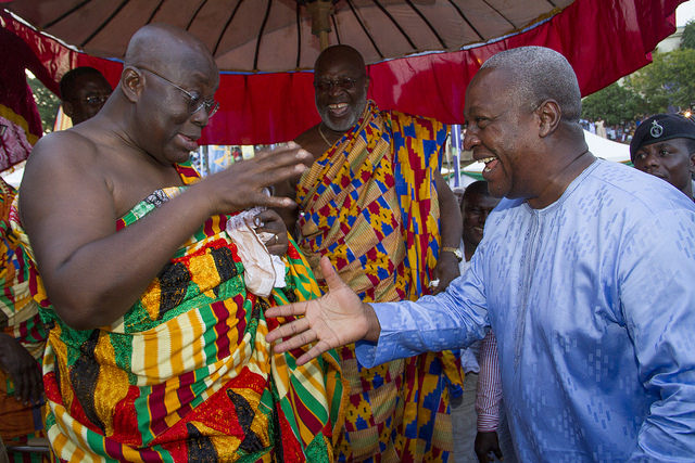 Akufo-Addo more influential than Mahama
