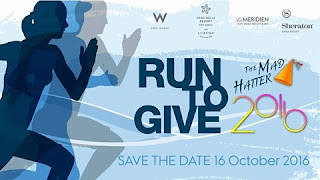 3rd Mad Hatter run in Chaweng, Sunday 16th October 2016
