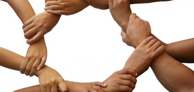 التضامن الاجتماعي وأشكاله