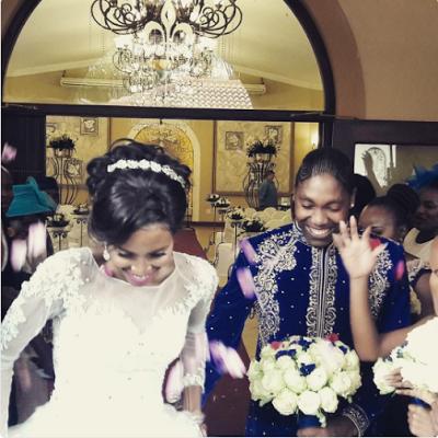 (Photos) South African Lesbian athlete, Caster Semenya weds partner on her birthday
