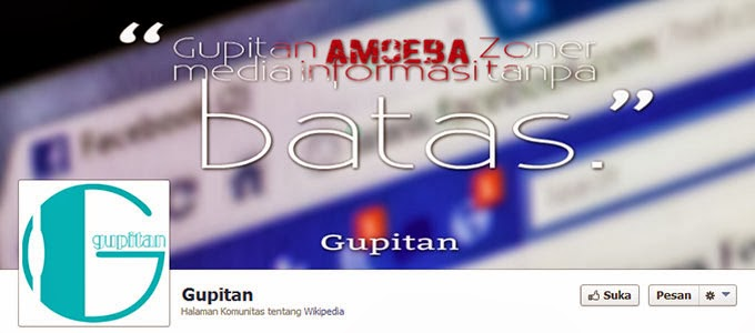 Cara Membuat Sampul Facebook Gupitan