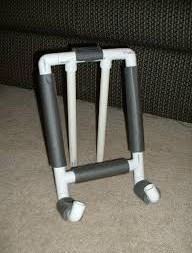 Cara membuat dudukan Gadget dari paralon PVC
