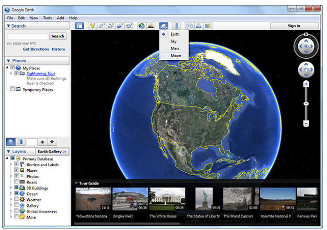 Google Earth 2016 Free Download and review