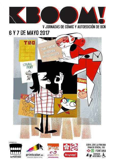 V jornadas KBOOM! De cómic y autoedición de Barcelona