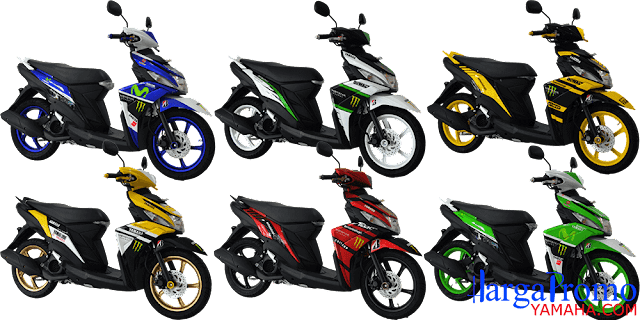 Harga Modifikasi Yamaha Mio M3 125 Blue Core Custom