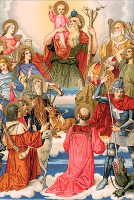 En la Imagen, Los 14 Santos Auxiliadores