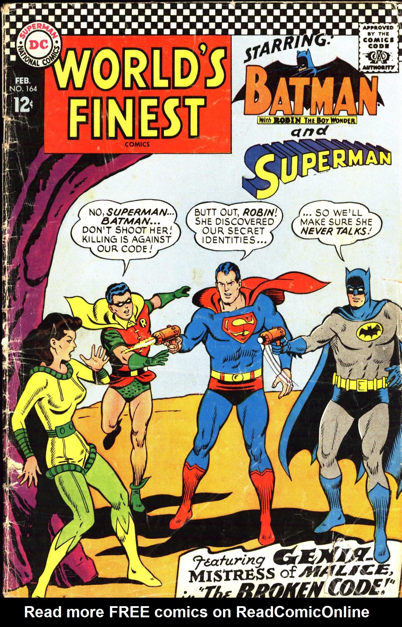 Read online World's Finest Comics comic -  Issue #164 - 1